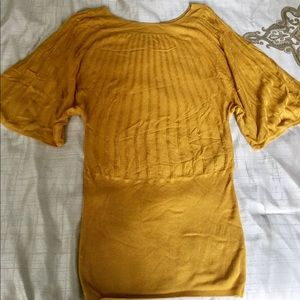 Beautiful gold H&M sweater/dress/Tunic